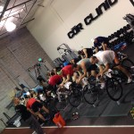COR Clinic Group Fitness Cycling Class